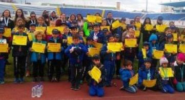 Η πρώτη τους εμπειρία με το «Kid's Athletics»