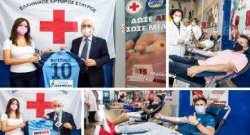 Με επιτυχία  η εθελοντική αιμοδοσία