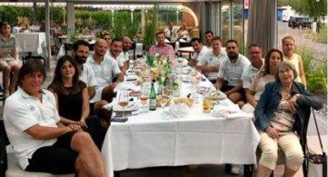 Σε ελληνικό εστιατόριο είδαν τον τελικό!