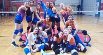 Μεγάλη νίκη στο Κερατσίνι  το Peristeri Volley Κ18!